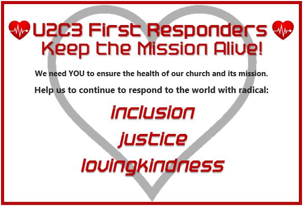 Be a U2C3 First Responder!
